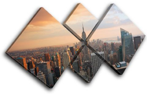 New York Skyline USA City - 13-0134(00B)-MP19-LO